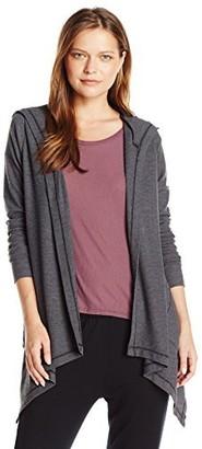 good hYOUman Women's Kimberly Long Sleeve Hooded Cardi
