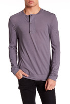 Helmut Lang Long Sleeve Henley Knit Shirt