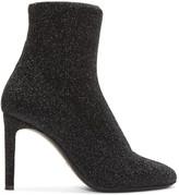 Giuseppe Zanotti Black Stretch Lurex Boots