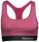Reebok Womens Simone Poly Sports Bra Top Pink