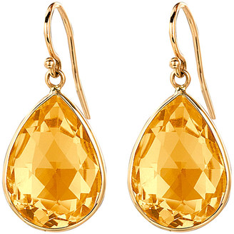 Ariana Rabbani 14K Citrine Drop Earrings