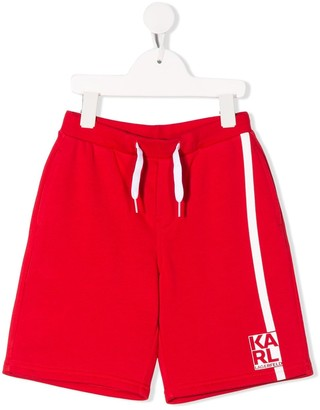 Karl Lagerfeld Paris Side Stripe Shorts