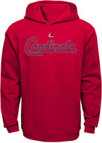 Majestic Kids' St. Louis Cardinals Wordmark Fleece Hoodie