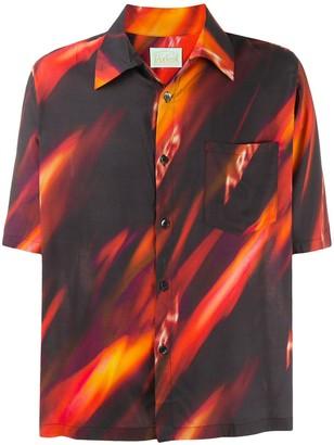 Aries Fyre Hawaiian shirt