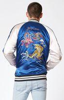PacSun Dragon Reversible Souvenir Jacket