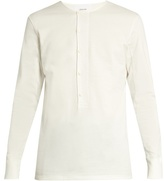 Lemaire Cotton-jersey henley top