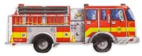 Melissa & Doug Giant Fire Truck Floor 24 pc
