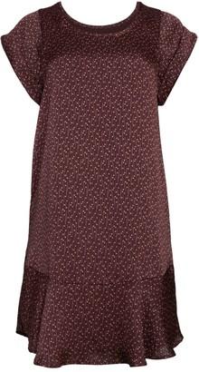 Joie Carlen Print Flounce Dress