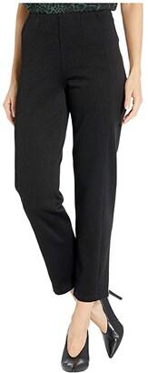 Liverpool Slim Legged Reese Knit Leggings (Black) Women's Casual Pants