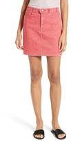 Frame Women's Le Color Denim Pencil Skirt