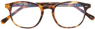 L.G.R Wayfarer Frame Glasses