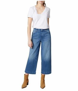 Jag Jeans Women's Ava Wide Leg Pull-On Crop Jean