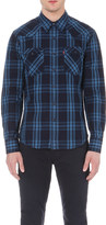 Levi's Barstow Western checked cotton shirt