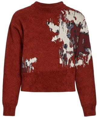 Kenzo Seasonal Jacquard Crewneck Sweater
