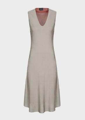 Giorgio Armani Dress With V-Neck