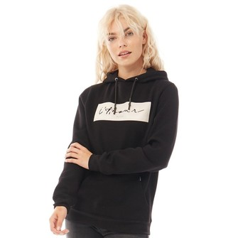 883 Police Womens Ava Sweat Hoodie Black