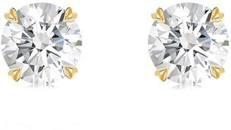 Pragnell 18kt yellow gold Windsor diamond studs
