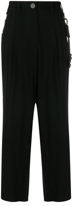 Song For The Mute High-Waist Trousers