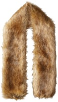 Hat Attack Faux Fur Long Collar Scarves