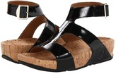 FitFlop Arena Patent (Black Patent) - Footwear