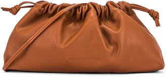 Studio Amelia 1.1 Mini Drawstring Bag in Tan Nappa Leather | FWRD