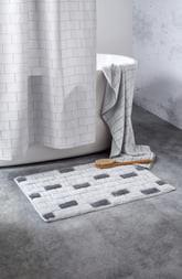 DKNY Subway Tile 5-Piece Bath Towels, Hand Towels & Shower Curtain Set