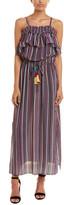 Figue Mirella Silk Maxi Dress