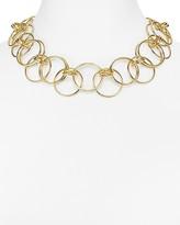 "Aqua Jan Chain Necklace, 18"""