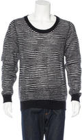 Christian Dior Striped Mohair Sweater