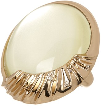Alexis Bittar Swarovski Crystal Accented Cocktail Ring - Size 7