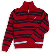 Nautica Boys 8-20 Half-Zip Sweater