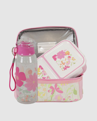 Bobbleart Dome Lunch Bag Small Bento Box and Drink Bottle Garden