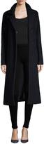 Andrew Marc Women's Lela Wool Tall Top Coat