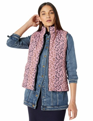 Tribal Women's Printed Reversible Vest with Pockets
