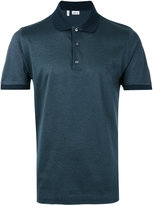 Brioni contrast trim polo - men - Cotton - XXL