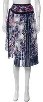 Sacai Printed Midi Skirt w/ Tags