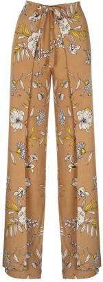 Vicki Beige Wrap Around Pants