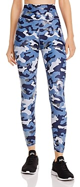 Aqua Athletic High-Rise Camo Leggings - 100% Exclusive