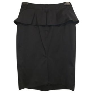 Jean Paul Gaultier Black Cotton Skirt for Women