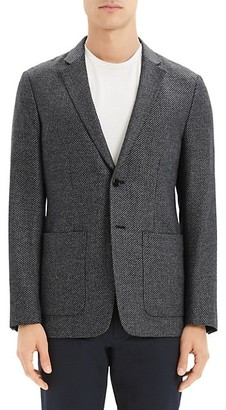 Theory Dawson Wool-Blend Single-Breasted Jacket