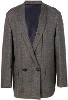Wooyoungmi plaid boxy blazer