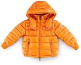 Moncler Boys' Hooded Ski Jacket, Orange, Sizes 2-6