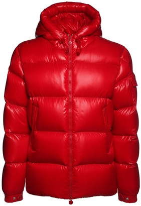 Moncler Ecrins Nylon Laque Down Jacket