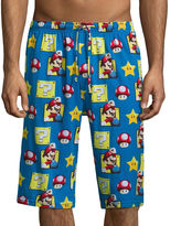 Asstd National Brand Nintendo Super Mario Knit Pajama Shorts