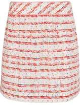 Moschino Cotton-Blend Bouclé Mini Skirt