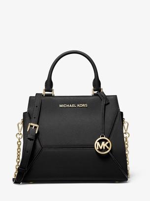 MICHAEL Michael Kors Prism Medium Saffiano Leather Satchel