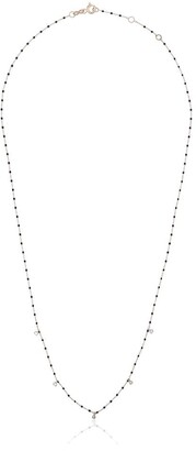 Gigi Clozeau 18kt Gold Diamond-Detail Beaded Necklace