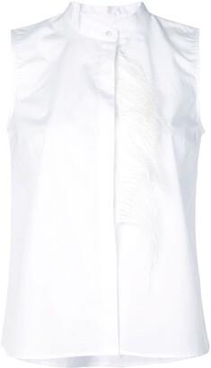 Sara Roka Fringe Detail Shirt