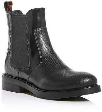 Jeffrey Campbell Women's Mixed-Media Chelsea Boots