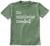 Urban Smalls Heather Green 'No Mistletoe Needed' Tee - Toddler & Boys